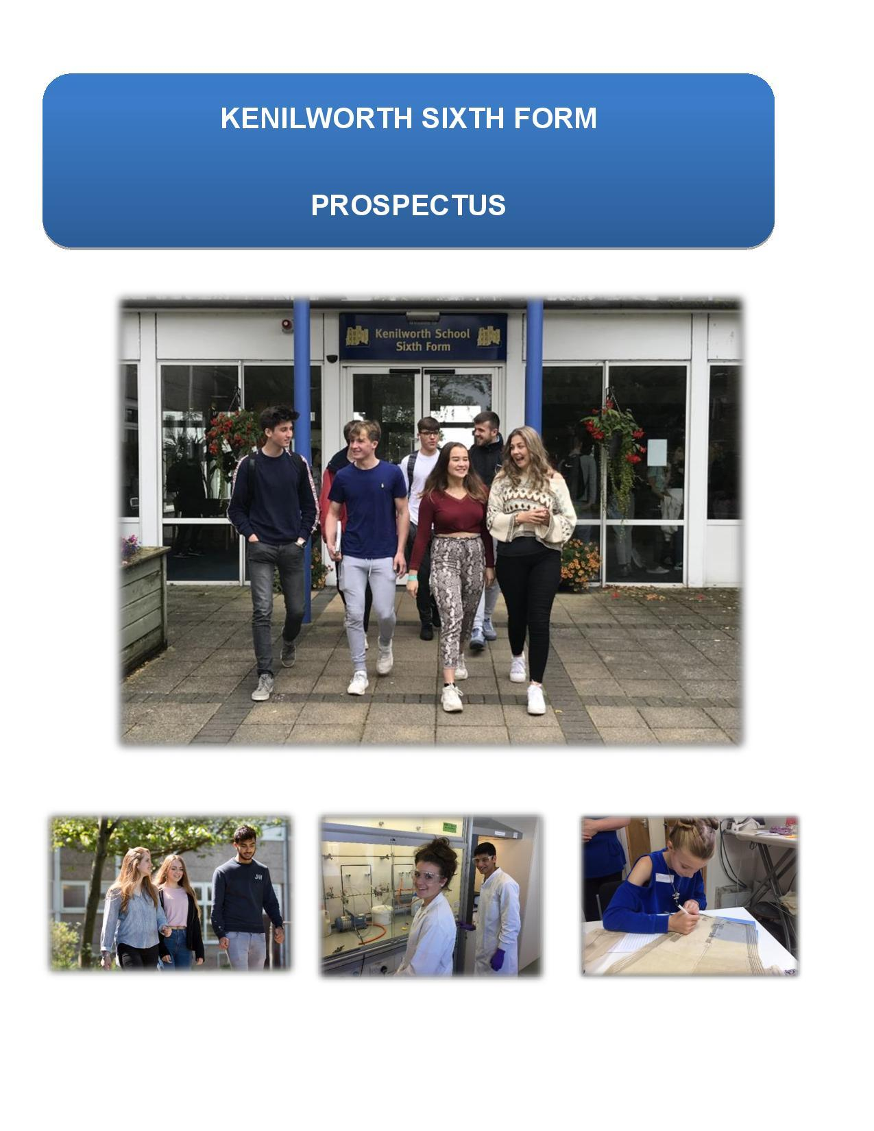 Prospectus front cover image