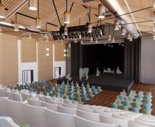 Main hall and Drama Theatre